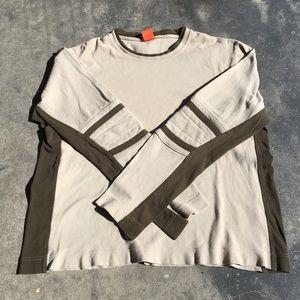 Hugo Boss Turbo Long Sleeve Striped Elbows Shirt